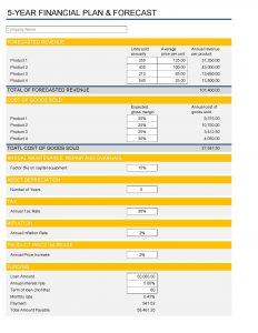 5 Yr Finance Plan Page 01 1
