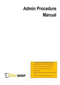 Admin Manual Page 01