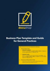 Medical Practice Business Plan Page 01